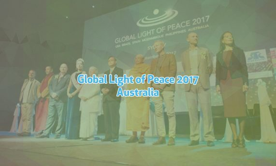 Global light of peace Australia